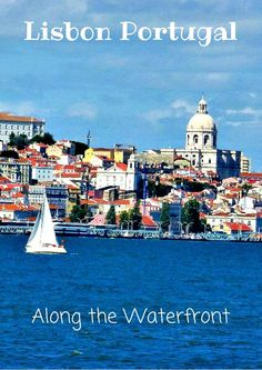 Things to do and see along the waterfront in Lisbon Portugal. Stop at a lively outdoor cafe, sample some of Lisbon's famous egg tarts, and enjoy some of Lisbon's best historical sites. Many accessible by a nice stroll along the coast. Click the pin to find out more! /venturists/