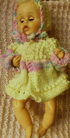 5 hours baby sweater- doll size