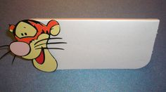 Winnie The Pooh Tigger Place Cards Treat bag Toppers by jscrewey, $4.99