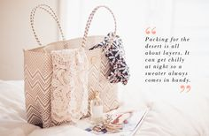 Check out packing tips from @Style Space & Stuff Blog Hutchinson / Could I Have That on the Joie blog! #coachella