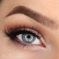 This look by Sarah Hilal is all about soft pink hues and is so perfect for every day wear. She used Makeup Geek Eyeshadows in Bitten, Cupcake, Prom Night, Shimma Shimma, and Unexpected + Makeup Geek Foiled Eyeshadow in In The Spotlight.