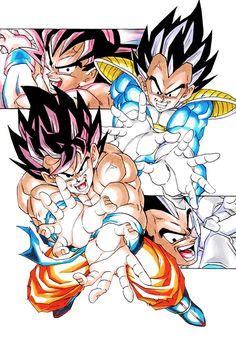Goku and Vegeta! Memórias de infância?