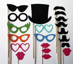 Items similar to Photo Booth Props – 20 Piece – Ultimate Party on Etsy Photobooth idea! Circus Theme, Circus Party, 14th Birthday, Birthday Parties, Birthday Ideas, Photo Booth Props, Photobooth Idea, Photo Booths, Debut Party
