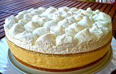 Les receptes que m'agraden: Pastís mousse de pressec - Pastel mousse de melocotón Chesee Cake, No Bake Desserts, Vanilla Cake, Holi, Camembert Cheese, Sweets, Baking, Recipes, Ten