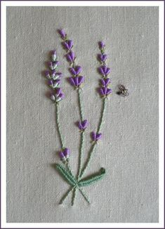 lavender.       What a gorgeous use of bullions