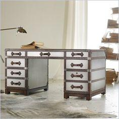 Hooker Furniture Melange 60 inch Bondurant Desk