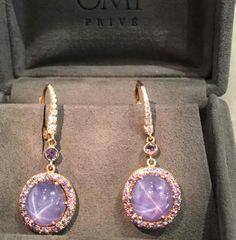 ⭐️⭐️ #starsapphire #earrings #omiprive #OhMyOMI