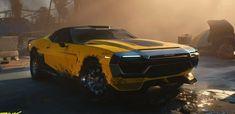 Cyberpunk 2077, Mode Cyberpunk, Mustang, Amc Javelin, Futuristic Cars, Human Art, Night City, Car Wallpapers, Automotive Design