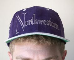 Northwestern University Vintage Snapback 86df63ef413b