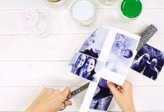 Op zoek naar originele fotolijstjes? Het enige wat je nodig hebt: foto's en jampotjes. Dat heb je misschien al wel in huis!