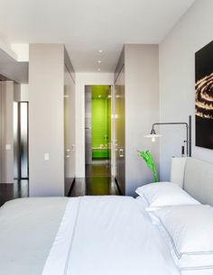 Chelsea Loft - contemporary - bedroom - new york - by Wettling Architects