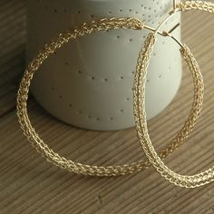 Wire Jewelry Crochet Pattern of YoolaHoops an ONLINE by Yoola, $23.00