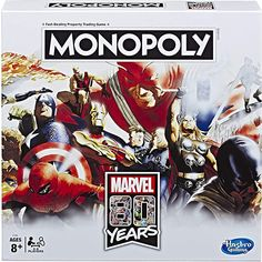 Ms Marvel, Marvel Avengers, Games Box, Board Games, Knight Logo, Friend Logo, Avengers Characters, Monopoly Game, Version Francaise