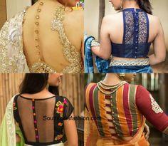 Blouse Back Designs photo