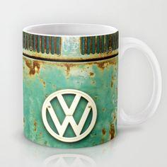 VW Retro Mug by Alice Gosling