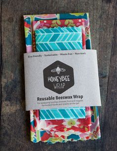 HoneyBee Wrap Reusable Beeswax Wrap | Indiegogo