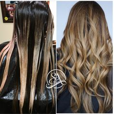 Balayage in Greenville SC. Hair Extensions Greenville SC.
