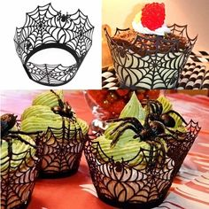 Material:Pearlized cardstock paper ,Laser Cut Design. Occasion:Halloween Type:Event & Party Supplies Please allow 2-3 weeks for the product to arrive.