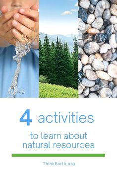When kids understand that everything comes from the natural environment, they are more likely to Think Earth every day and make sustainable choices. Here are some activities to help K-5 kids practice identifying the resources used to make things they use every day. Earth Day Activities, Hands On Activities, Learning Activities, Kids Learning, Help The Environment, Environmental Education, 5 Kids, Educational Videos, Natural Resources