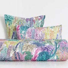kissenbezug aus baumwolle mit korallenprint deko pinterest kissen kissenbez ge und zara home. Black Bedroom Furniture Sets. Home Design Ideas