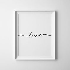 Nursery Wall Prints Downloadable Prints Love Sign Wall