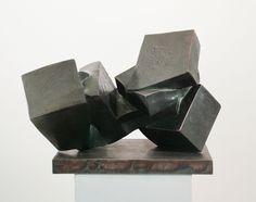 Frederic Crist, Horizontal Bronze Pillar #2, 2007, Cast bronze, 14 x 23 x 12 inches