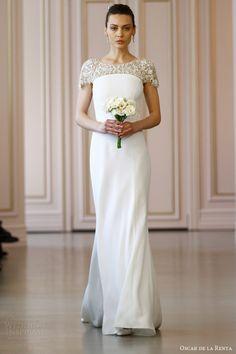 Oscar de la Renta Bridal Spring 2016 Wedding Dresses   Wedding Inspirasi