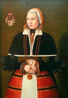 1571 Ludger Tom Ring the Younger - Portrait of Dorothea von Vechelde nee von Brotizem