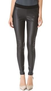 David Lerner Faux Leather Leggings | SHOPBOP | Use Code: INTHEFAMILY25 for 25% Off