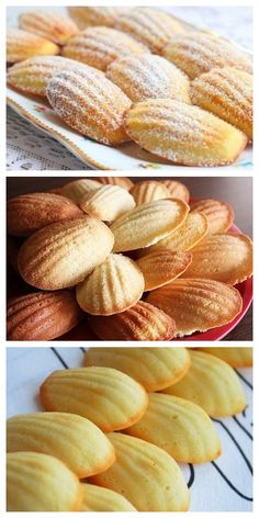 Healthy Desserts, Delicious Desserts, Madeleine Recipe, Cookie Recipes, Dessert Recipes, Homemade Pie Crusts, Russian Recipes, Yummy Appetizers, Holiday Desserts