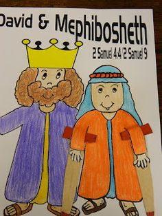 Our next lesson is about David and Mephibosheth. We will be focusing on COMPASSION and KEEPING OUR PROMISES. This is a wonderful story ...
