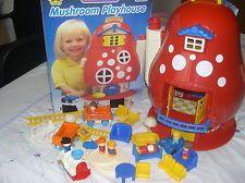 Matchbox live and learn mushroom house.