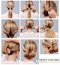 I have tried this, it is a very professional look, i have a presentation tomorrow and I am thinking of doing my hair like this :)