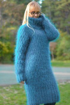 mohair sweater dress