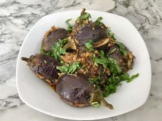 Instant Pot Stuffed Baby Eggplant w/ Authentic Taste - Ministry of Curry Curry Recipes, Vegetarian Recipes, Cooking Recipes, Instant Pot Pressure Cooker, Pressure Cooker Recipes, Pressure Cooking, Slow Cooker, Best Dinner Recipes, Indian Food Recipes