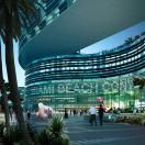 Convention Center Entry. Miami Beach Convention Center. Image courstesy of OMA.Click above to see larger image.