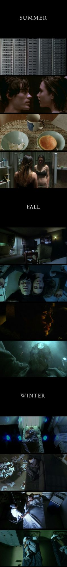 Requiem for a Dream(2000) Directed by Darren Aronofsky. Cinematogrphy by Matthew Libatique.