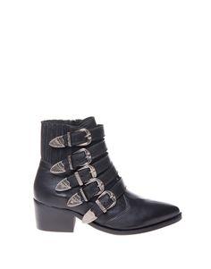 Koop Enkellaars - Cowboy Belted Leather Black Online op www.localsunited.nl voor slechts € 139,95. Vind 3 andere Ilc Company producten op www.localsunited.nl.