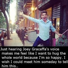 Joey graceffa! I Hope To Meet Him ;)