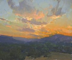 Bill Anton - his use of greys makes the color in his paintings sing.