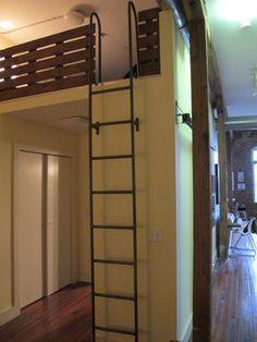 Bedroom loft ladder Design Ideas, Pictures, Remodel and Decor