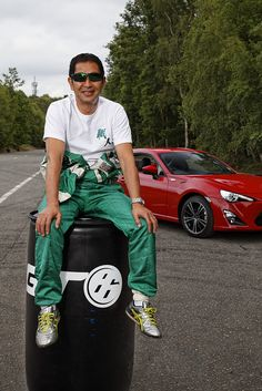 King of Drift: Keiichi Tsuchiya drives the Toyota GT86 by Toyota UK