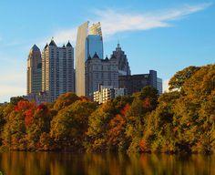 Fall in Atlanta | The Woods at Southlake Apartments