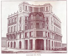 Fotos Viejas de Mar del Plata: CLUB MAR DEL PLATA