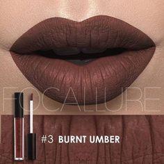 Matte Peachy Rose Gold Metal Color Lip Gloss
