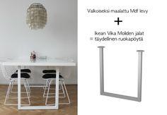 Vika Moliden by Ikea / DIY kitchen table