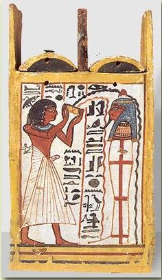 Egypt: The Tomb of Sennedjem - Box of Khons