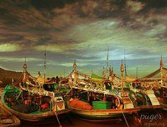 Pelabuhan nelayan Location : Puger - Jember - Jawa Timur