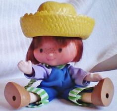 HUCK FIN FIRST -VINTAGE ORIGINAL DOLL HAS ALL CLOTHES SHOES AND HAT SO CUTE!LOOK