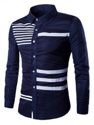 Cheap male slimming, Buy Quality brand dress shirt directly from China dress shirt Suppliers: Men Shirt Long Sleeve 2017 Brand Shirts Men Casual Male Slim Fit The Bars Printing Chemise Mens Camisas Dress Shirts XXL RUBFNKV Slim Fit Dress Shirts, Fitted Dress Shirts, Casual Shirts For Men, Men Casual, Smart Casual, Casual Wear, Moda Peru, Gents Shirts, Chemise Slim Fit